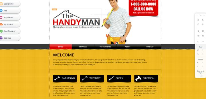 homepage einfach selber machen ofri 39 s tipps f r kleinunternehmen. Black Bedroom Furniture Sets. Home Design Ideas